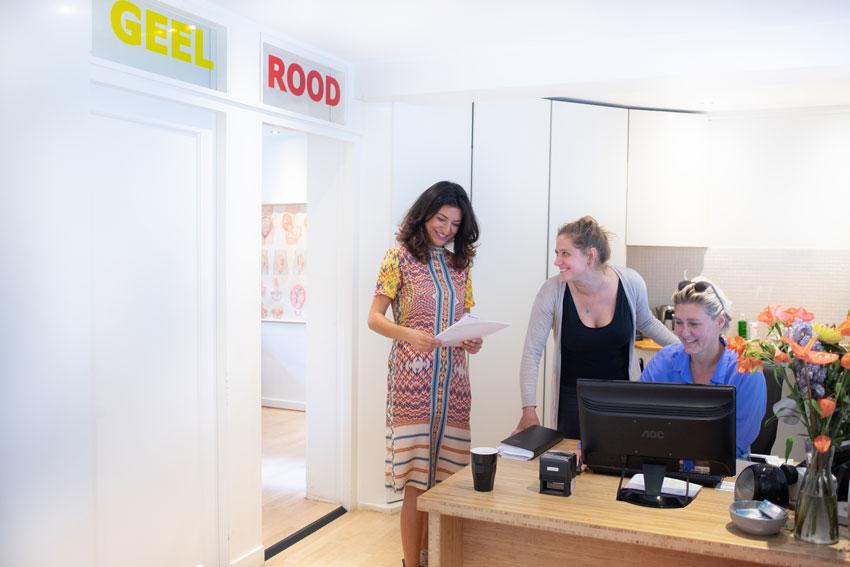 De verloskundigenpraktijk Amsterdam